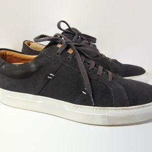 Greats Mens Gray Suede Tennis Shoes US 9 Brooklyn